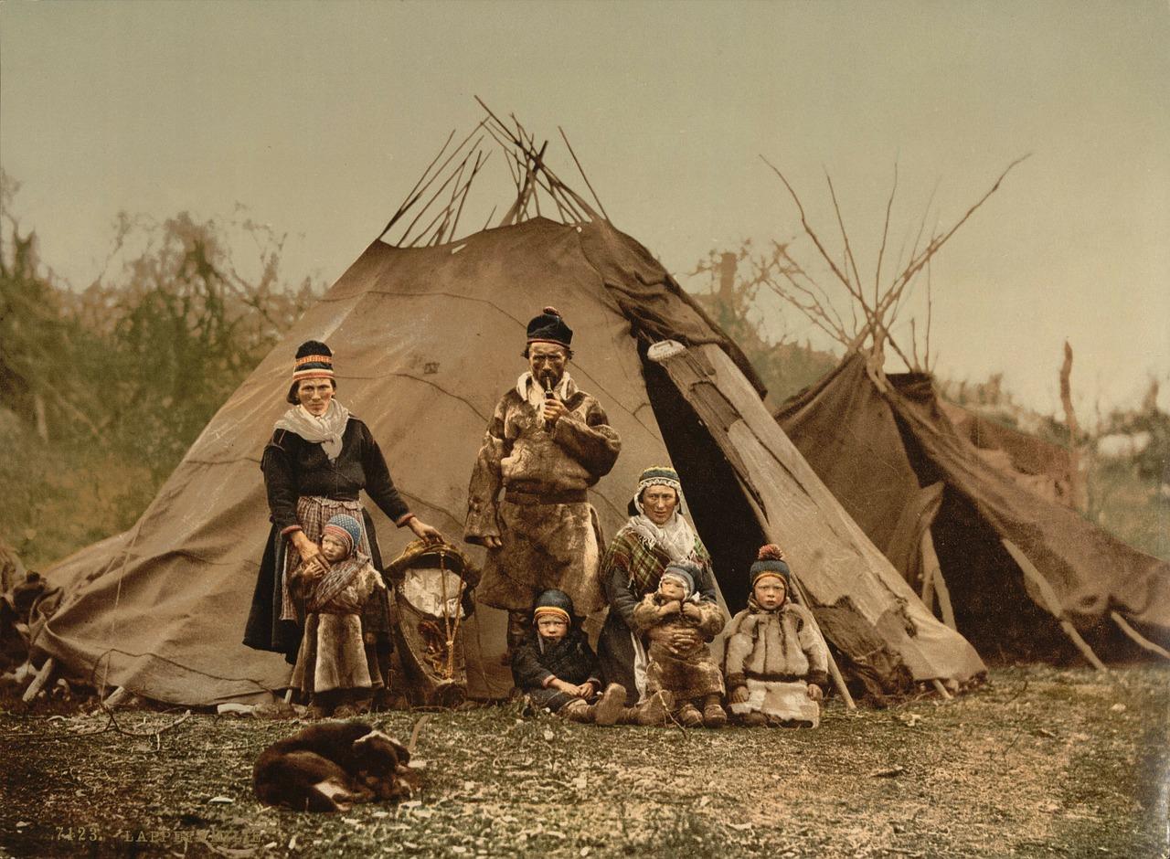 Семья индейцев
